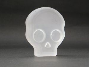 石英ガラス 平型ドクロ / スリタイプ