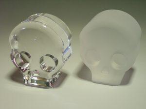 石英ガラス ドクロ/クリアタイプ・スリタイプ