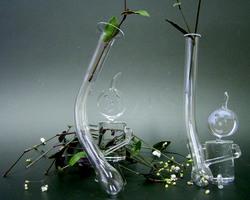 石英ガラスのオブジェ/小人